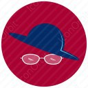 Spects  with Hat icon